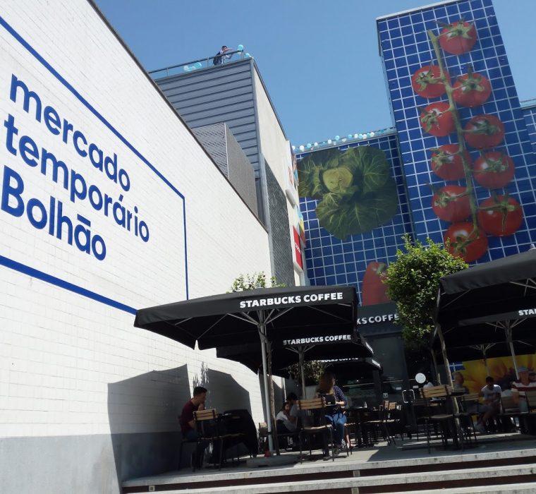 Mercado Temporario Bolhão - Porto