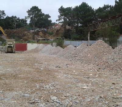 Demolição da Antiga Fábrica Metalomecânica Setubalense